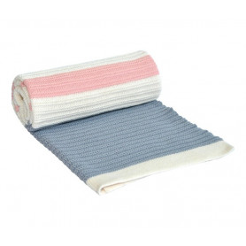 CEBENCE ZA BEBE STRIPES - LIGHT BLUE-PINK