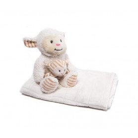 GIFT SET SHEEP IGRACKA AND CEBENCE - IVORY
