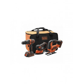 Akumulatorski set 18V 3U1  BCK31S1S Black & Decker