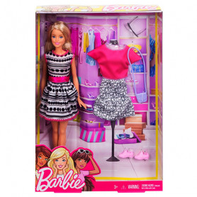 Barbie lutka i fashion set