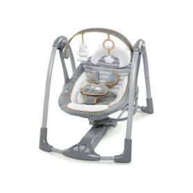 KIDS II Ingenuity Ljuljaska Boutique Collection Swing 'n Go Portable - Bella Teddy 11023