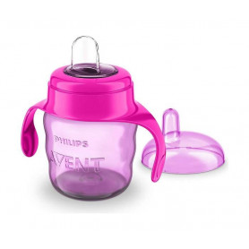 Philips AVENT SOLJA  Easy sip 7oz/200ml 6m+ PINK