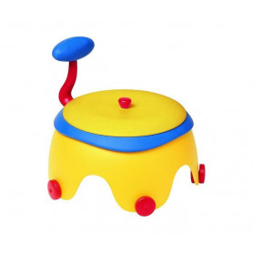POPY POTTY-Chair yell/red/blue - nosa