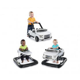 KIDS II Dubak Bright Starts Ford F-150 Raptor 3 Ways to Play - White 10302