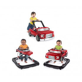 KIDS II Dubak Bright Starts Ford F-150 Raptor 3 Ways to Play - Red 10630