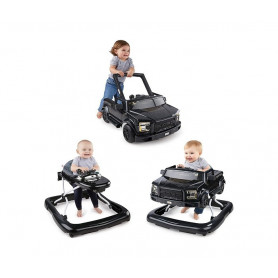 KIDS II Dubak Bright Starts Ford F-150 Raptor 3 Ways to Play - Black 11583