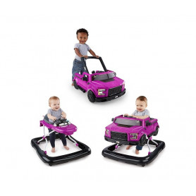 KIDS II Dubak Bright Starts Ford F-150 Raptor 3 Ways to Play -  Magenta 11584